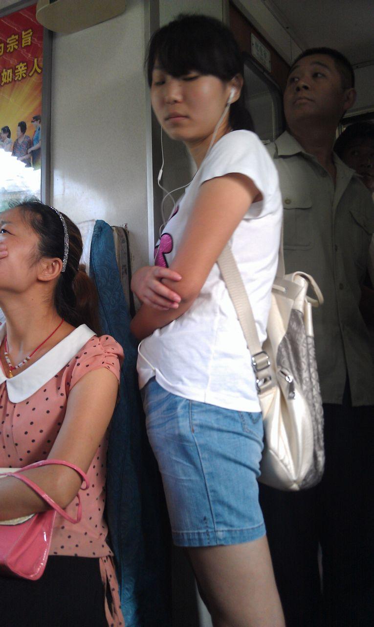 火车上的美女 齐河吧