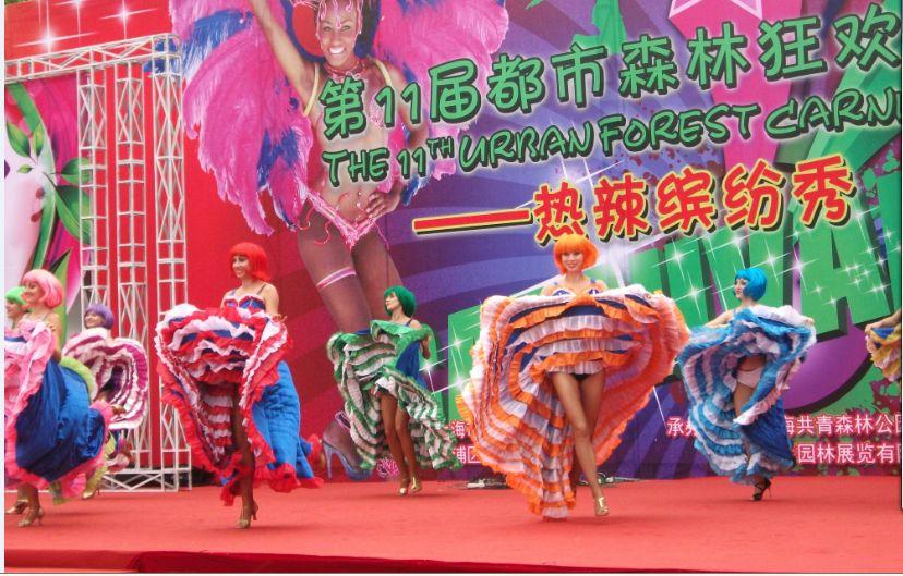 金凤凰歌舞团美女舞蹈演出