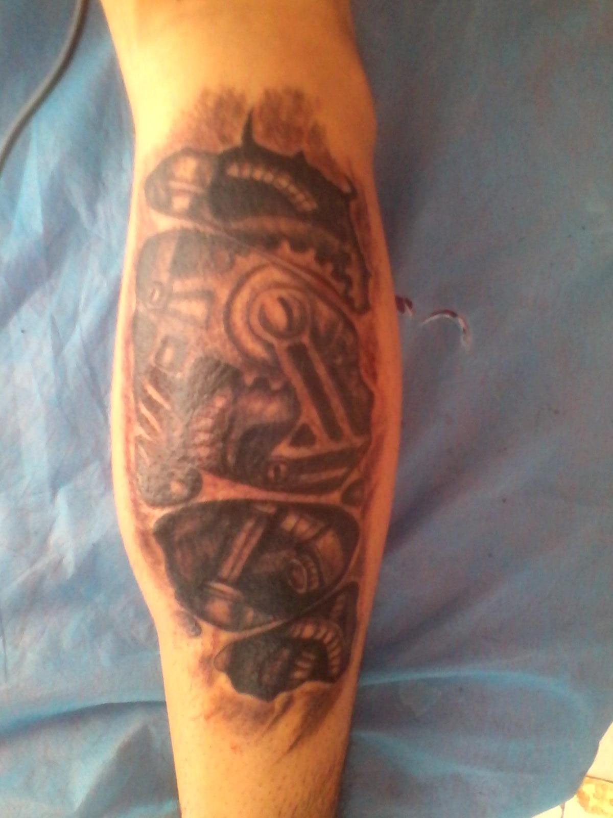 火凤凰图腾纹身集好运和吉祥于一图片