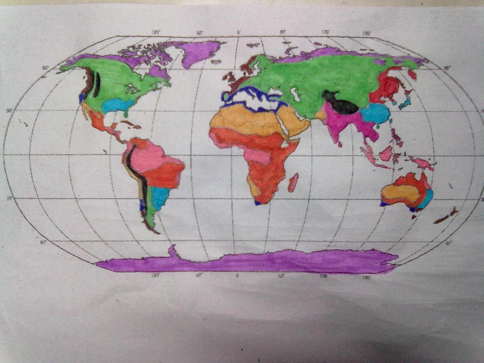 画地球的图画-南极洲比尔德观测站角气候图   高清世界地图星空图海洋图[16