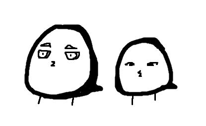 寒冷的表情简笔画