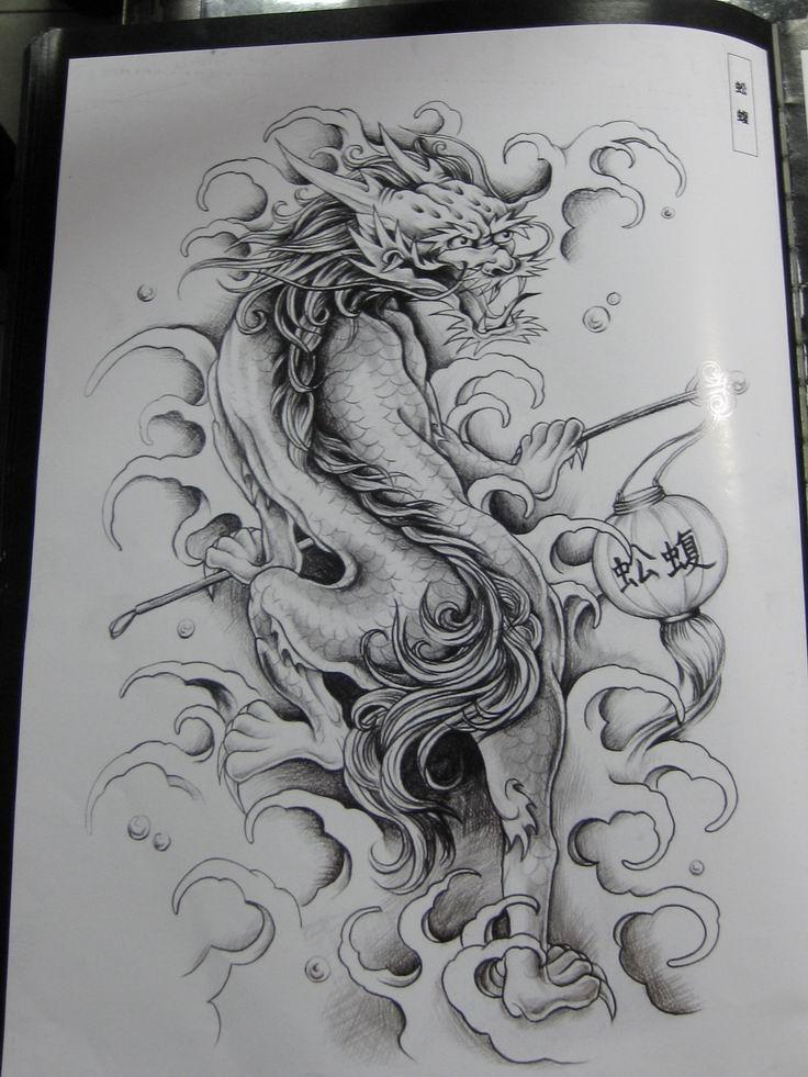 (原稿)素描手稿(纹身图).图片