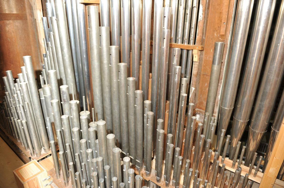 管风琴 结构分享展示