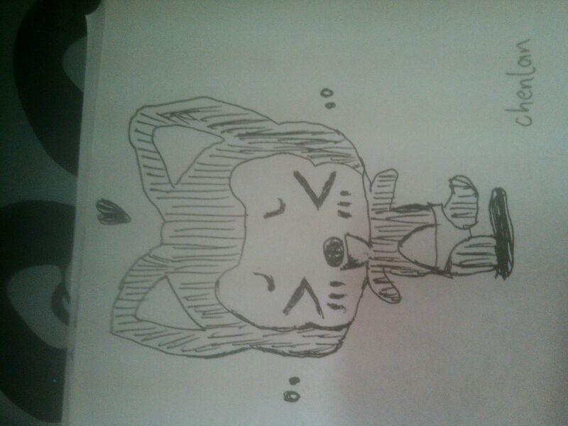 阿狸简易画法阿狸画法画阿狸的简笔画画法