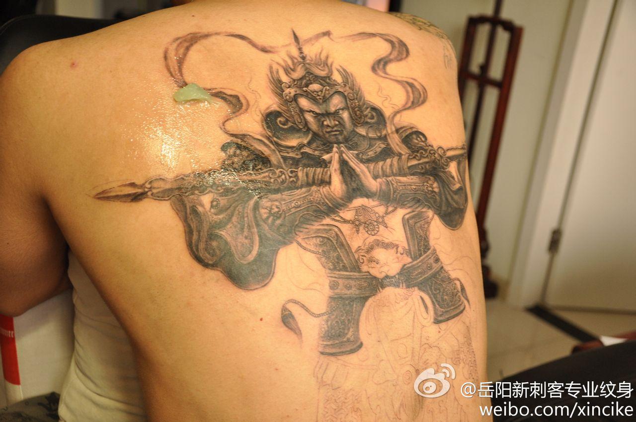 虎纹身 下一下:西_纹身图案图片