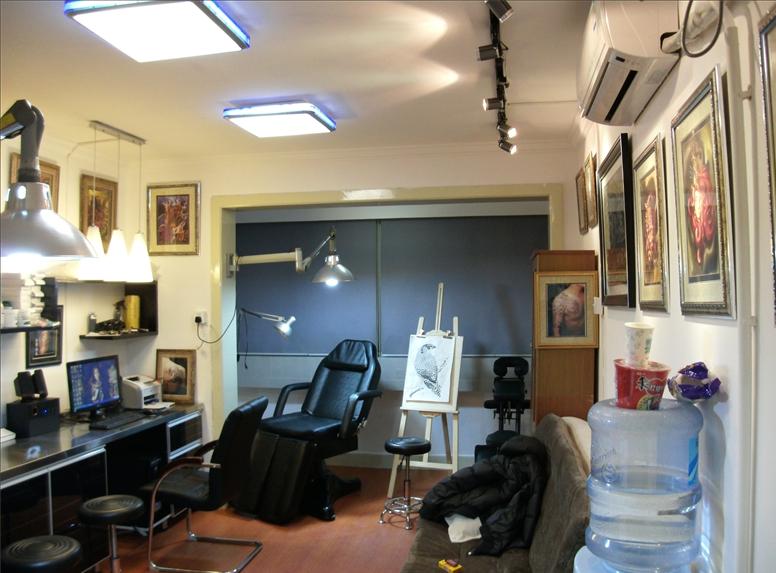 纹身工作室装修设计分享展示图片