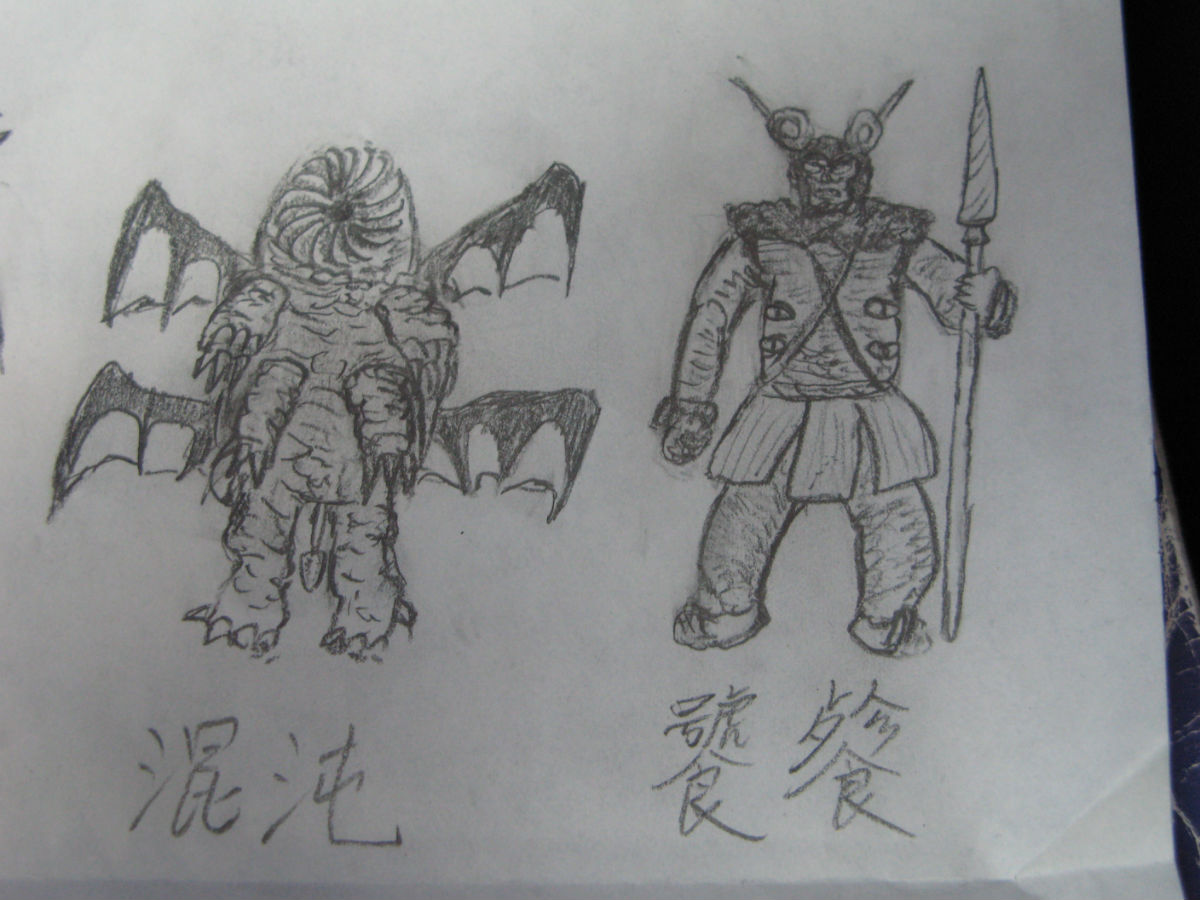 铠甲勇士卡通简笔画