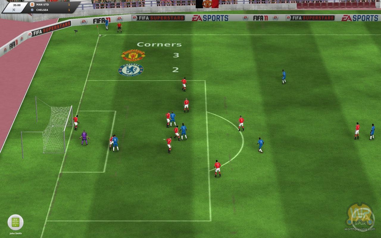 FIFA足球经理2012,这3D效果直逼实况2011