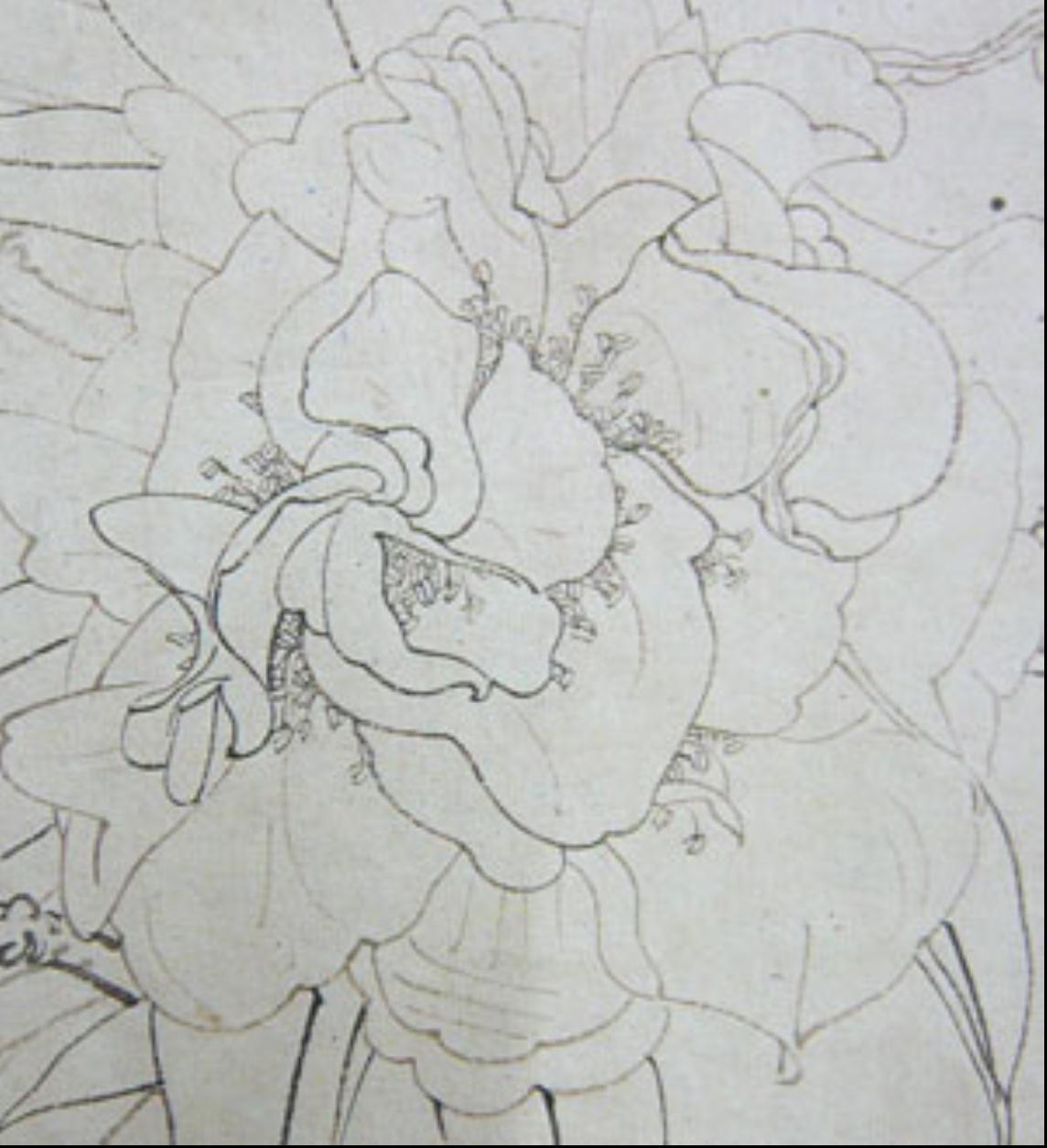 手绘线条 物象空间图片