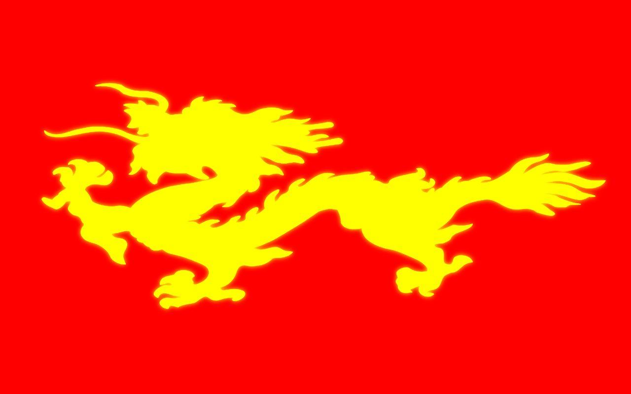 中华帝国国旗 国家国旗图片及名称 红白蓝是哪国国旗 罗马高清图片