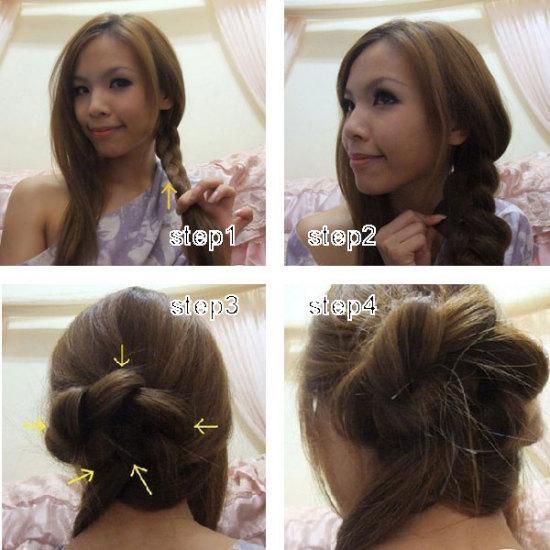 小孩头发怎么扎好看 教你扎100种头发 小孩扎头发好看图解图片