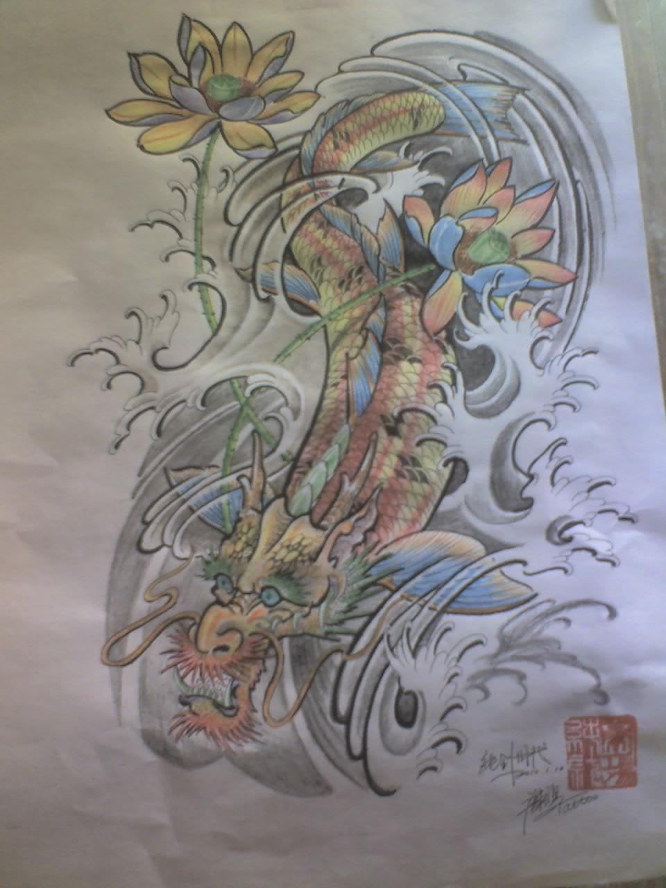 一些漂亮的男性纹身图案图片