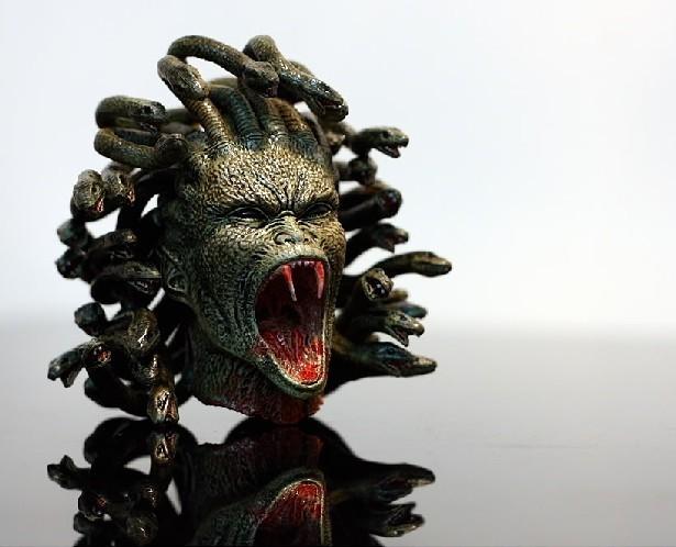 蛇妖美女 美杜莎的纹身作品和一些素材