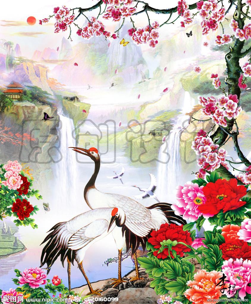 松树松针松果 纹身 热爱大自然图片