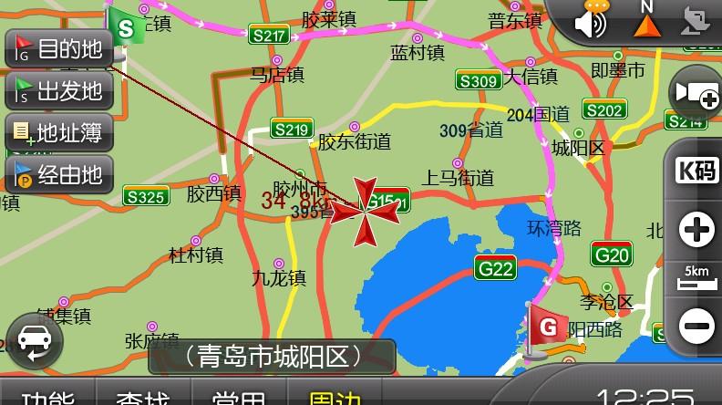 美国地图gps导航仪_百度地图gps导航仪_凯立
