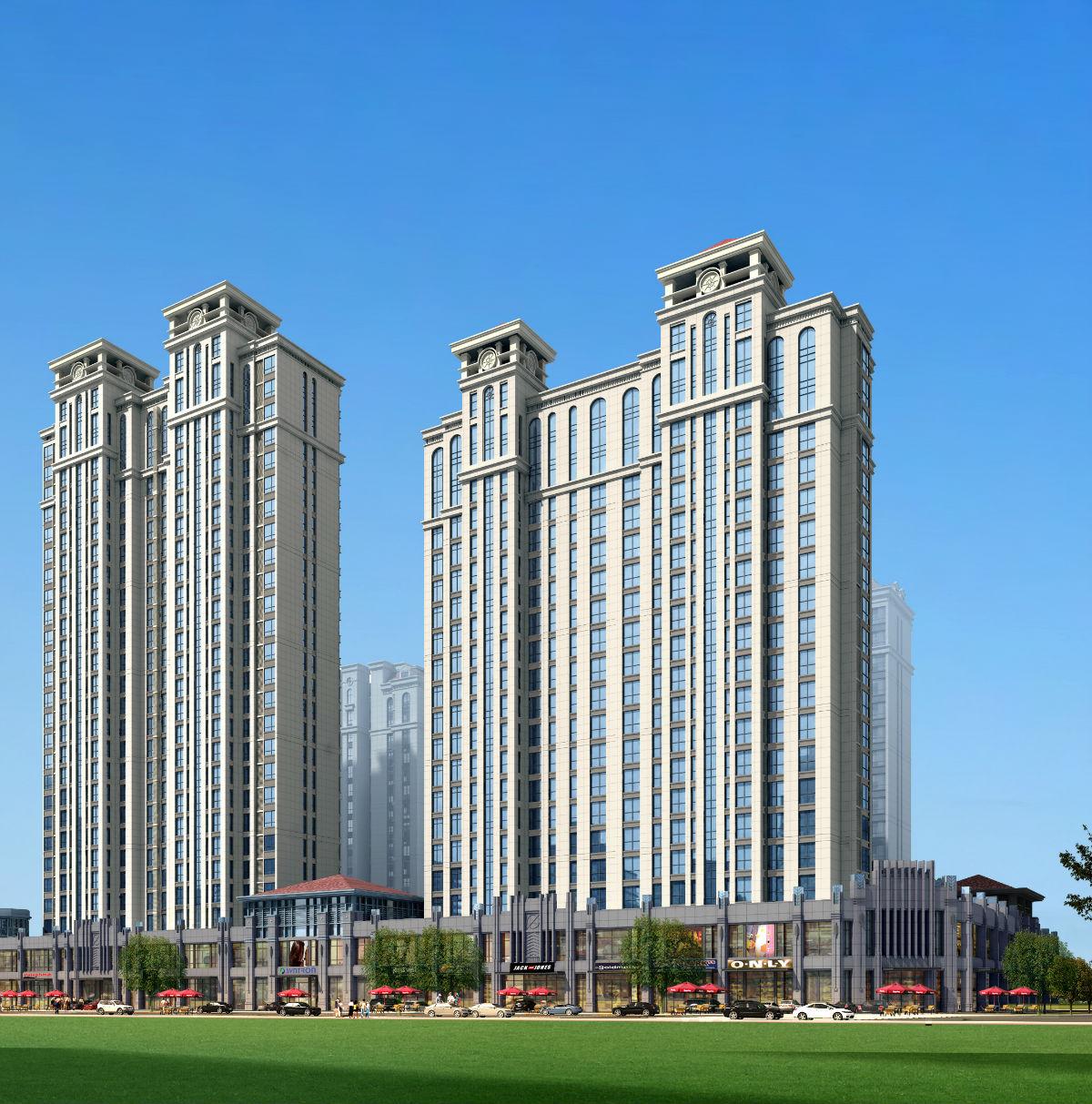 城市之上——岚山cld首席高适居性上品名宅图片