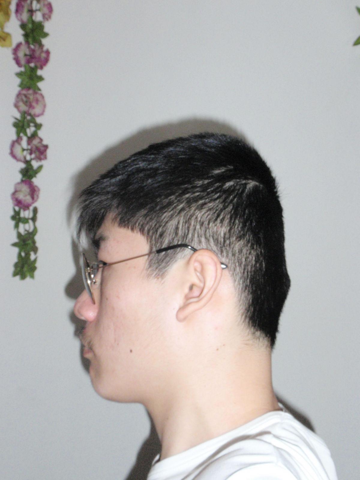 发型后脑勺_飞机头发型图片_男生发型短发铲两边_2016短发最新发型女