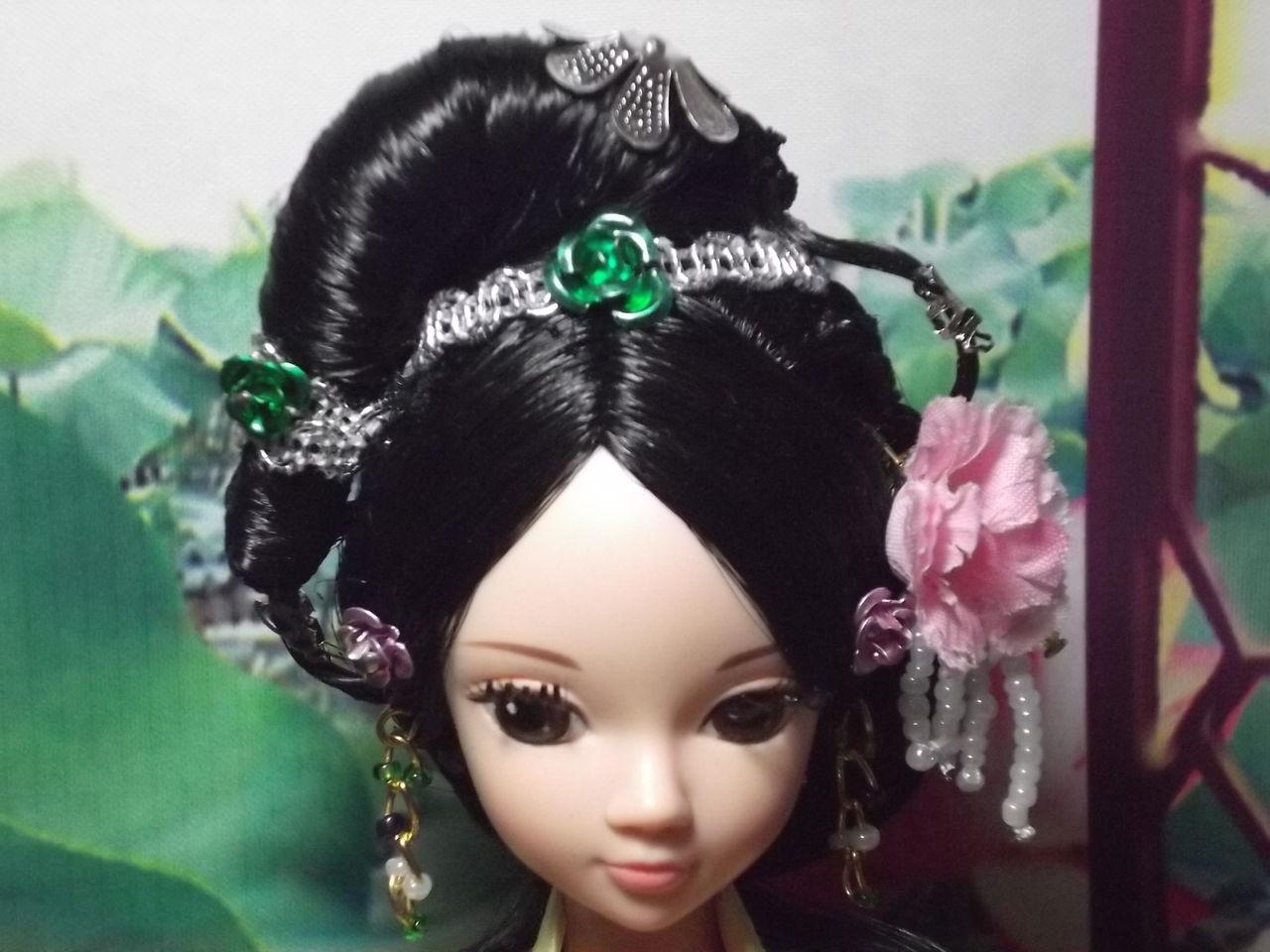 【佩佩古装】老发型.麻豆嫦娥妹图片