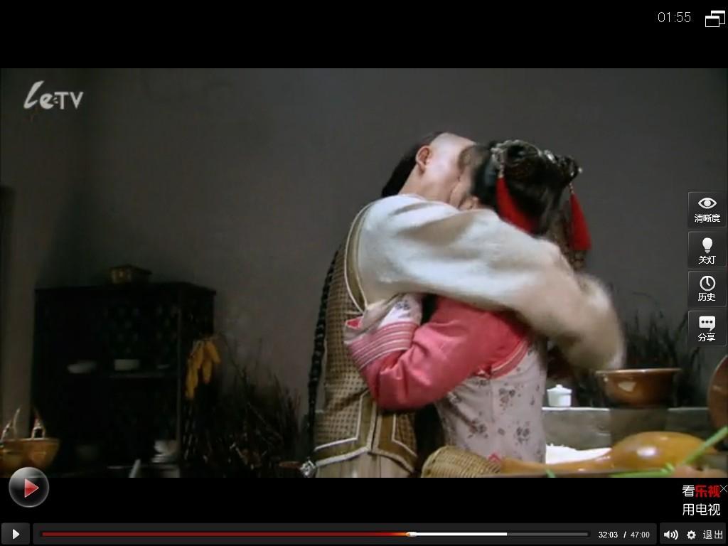 新还珠格格欣荣吻戏新还珠格格吻戏永琪和小燕子亲吻-新还珠格格之