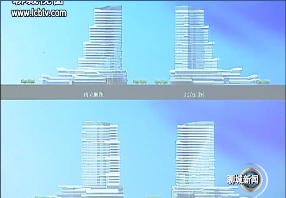 大聊城 继续震撼 城建规划图奉上 高清图片