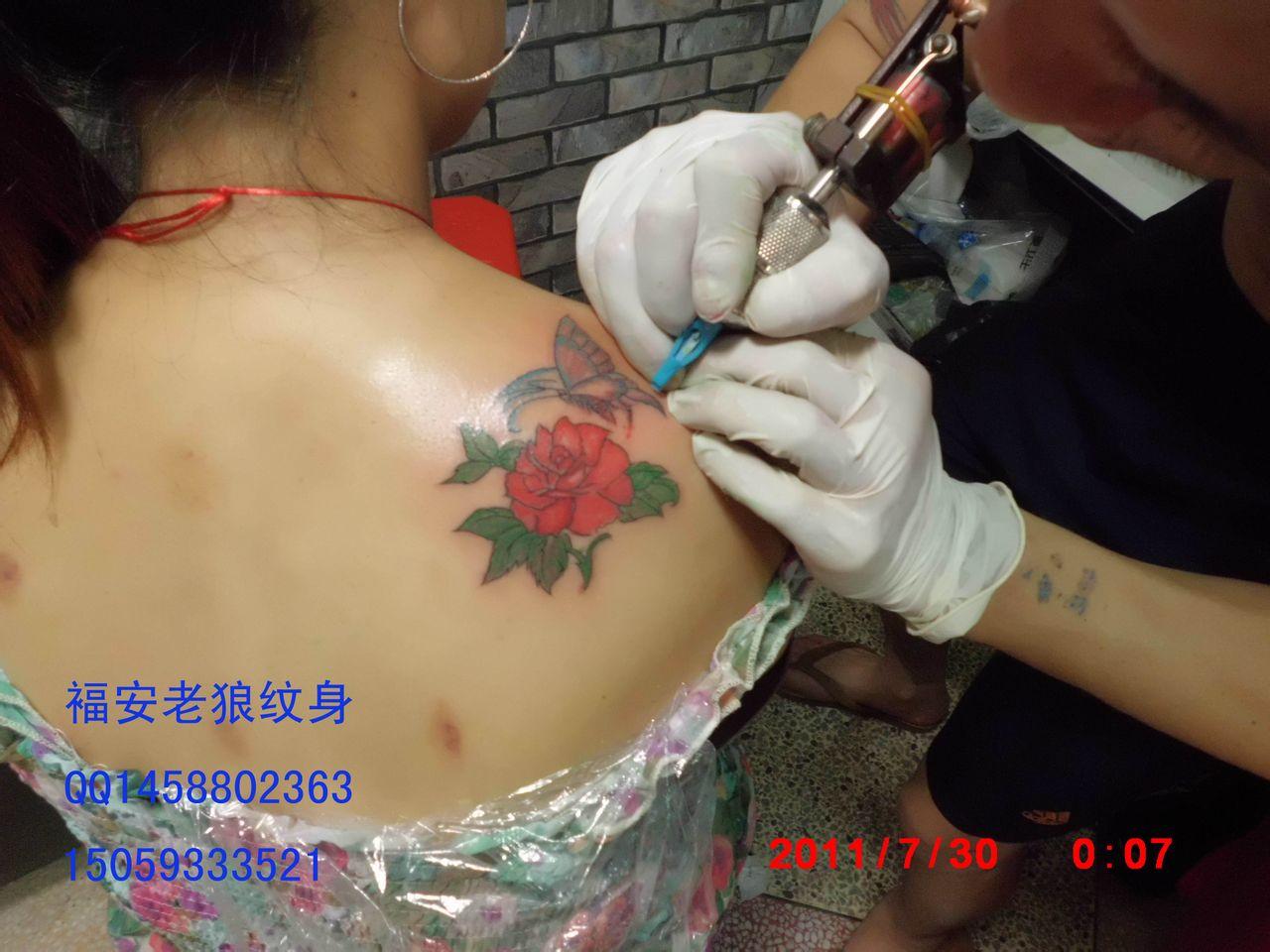 福安老狼纹身馆_福安吧图片