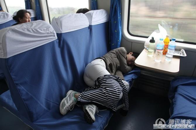 火车上睡觉的事了