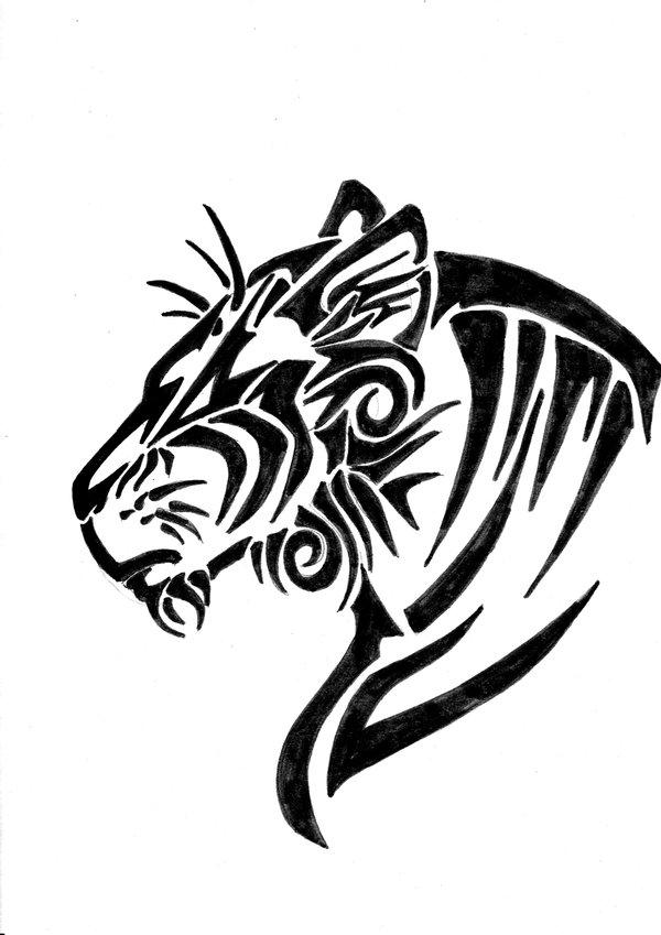 寅)(十二生肖)文身作品_纹身图案图片