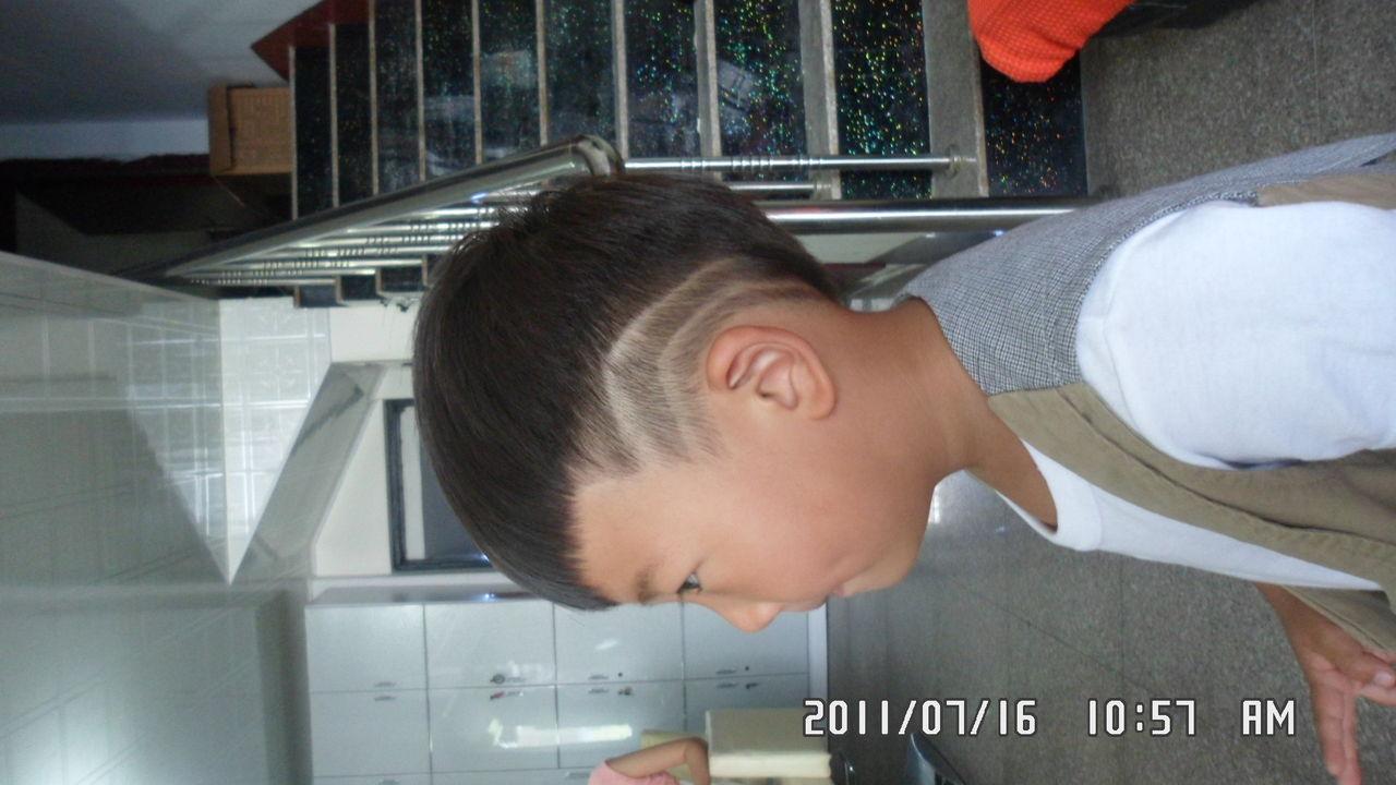 【图】一岁小孩最酷发型图片