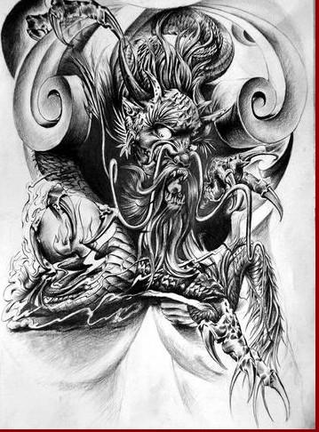 纹身图案 女生手环纹身手稿 > 彩色个性小女孩纹身手稿图案  彩色个性图片