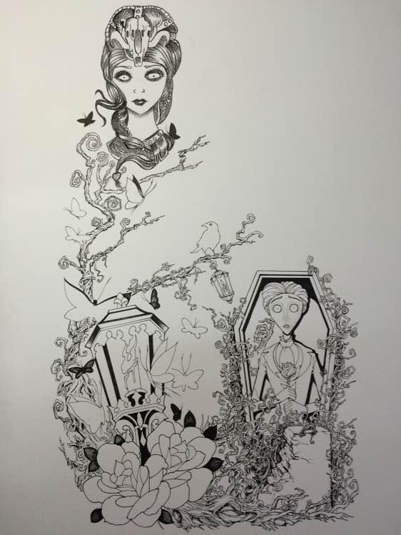 纹身手稿设计图片