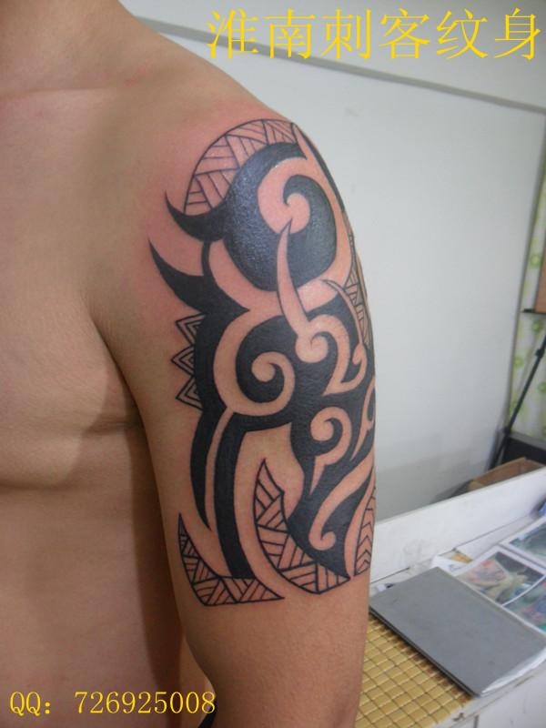 藏族法器纹身图案分享展示