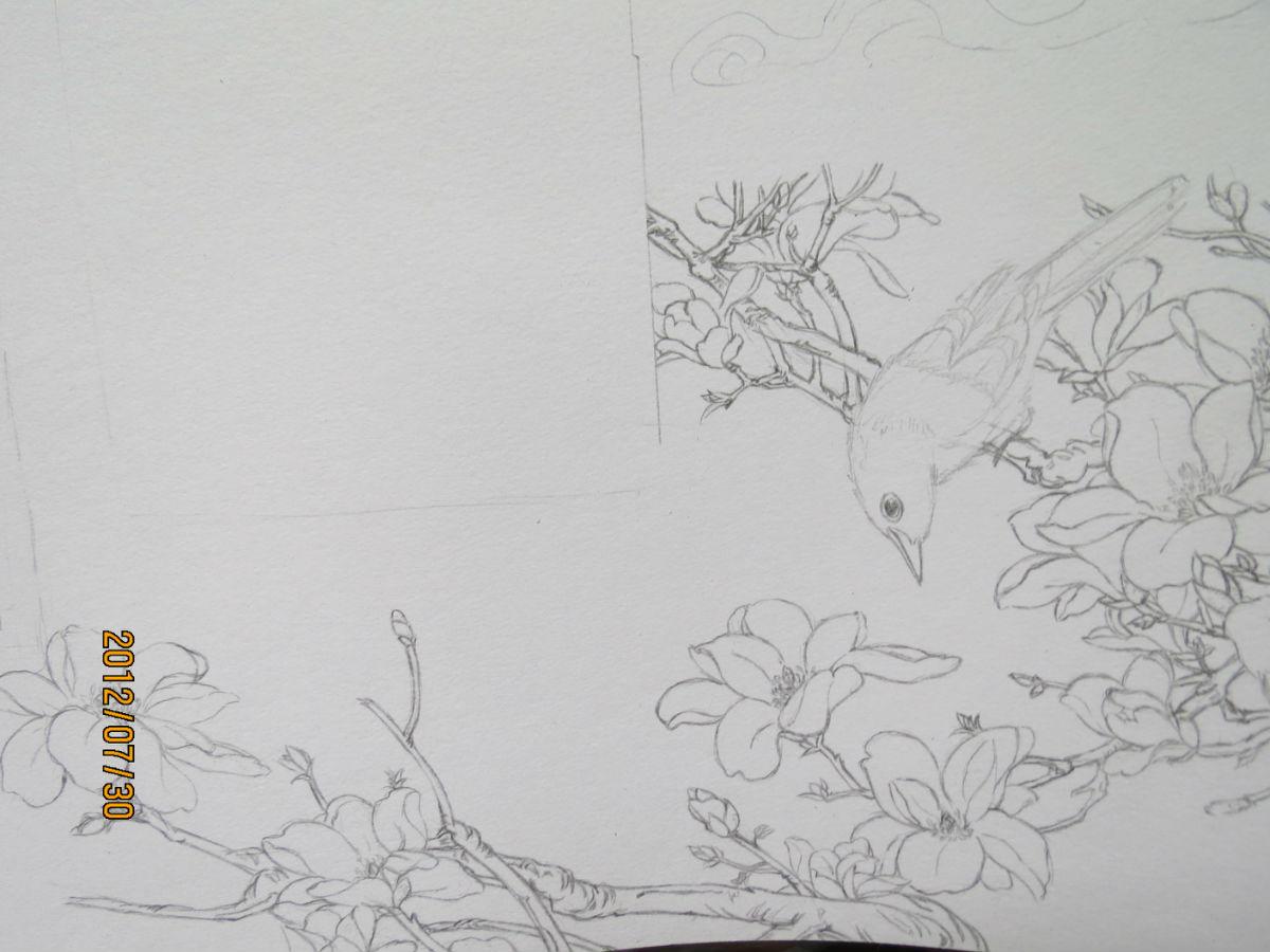 中国画手抄报_中国画手抄报设计
