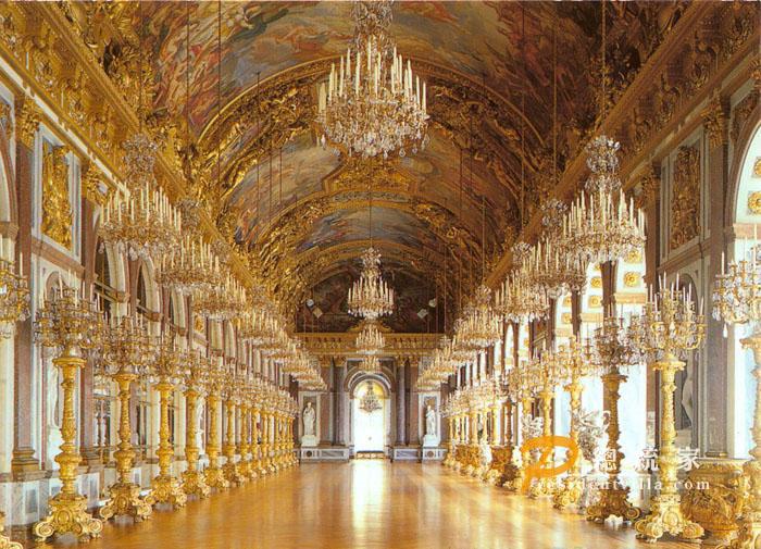 为什么欧洲人的宫殿老是喜欢搞得这么奢侈图片