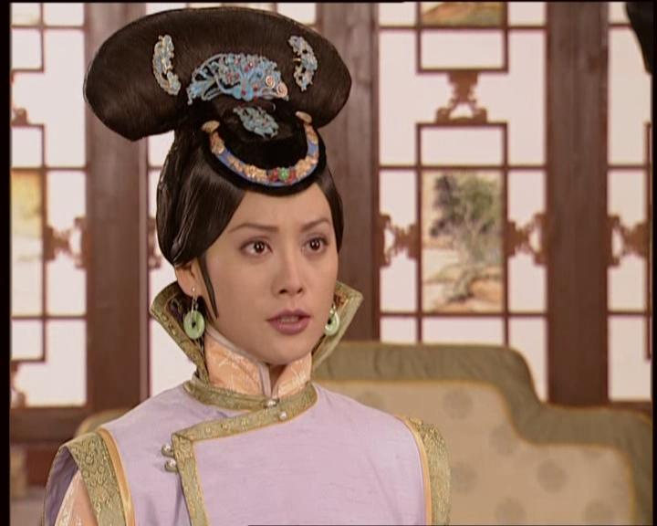 清朝漂亮女子发型梳法(7)图片