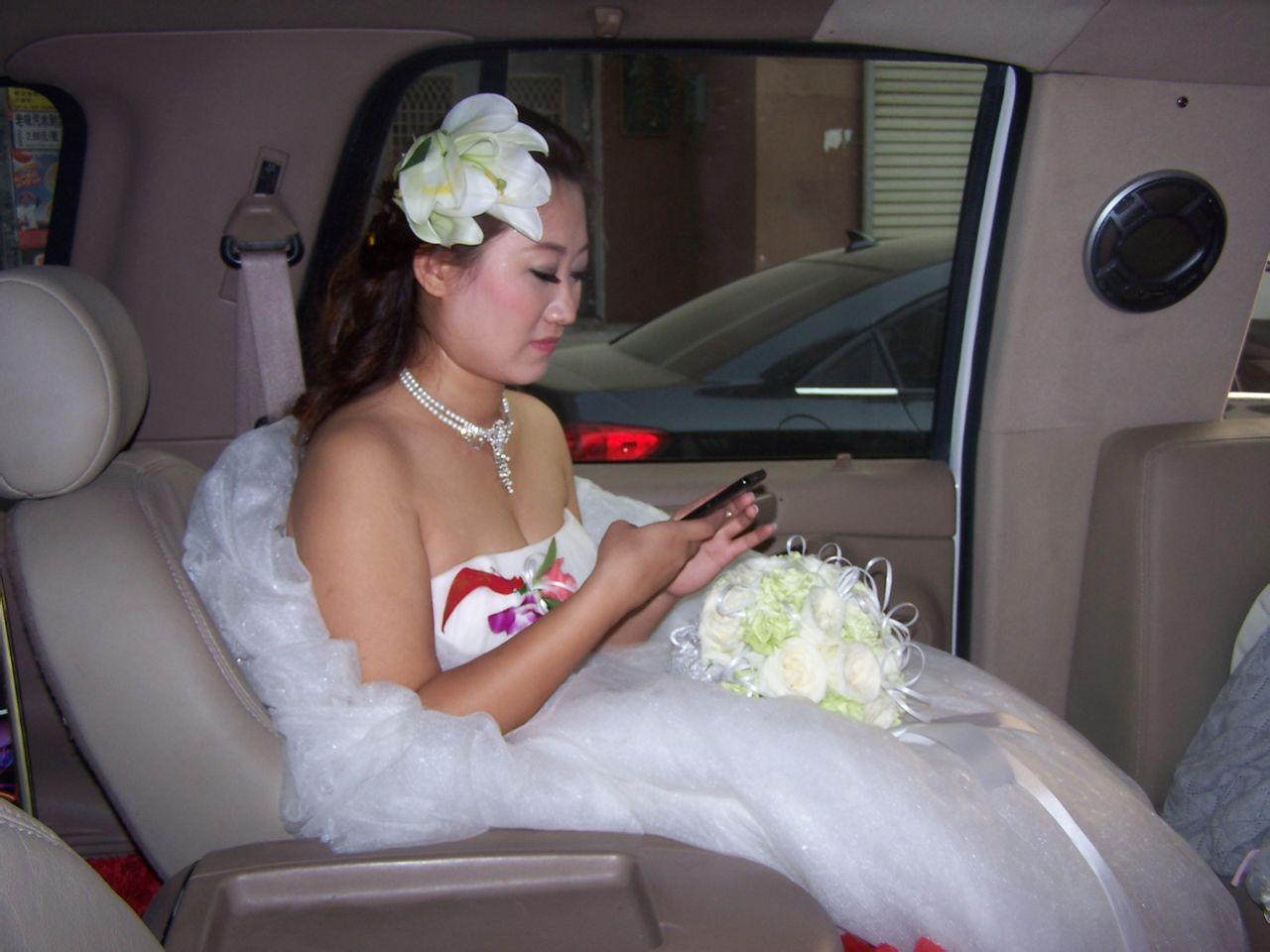 美女豪华婚礼