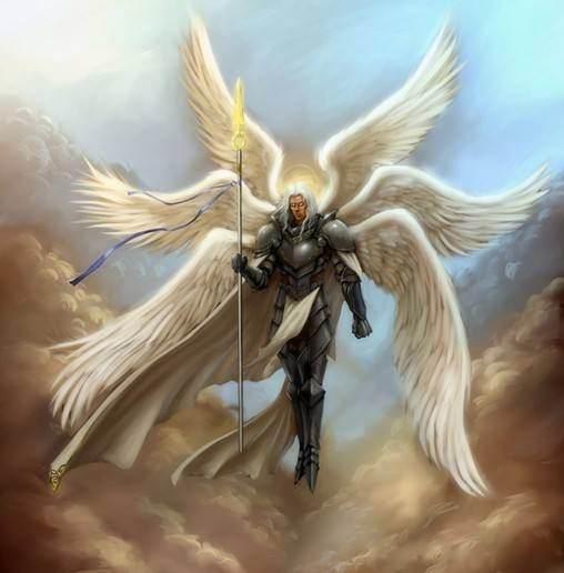 求天使的纹身图片 加百利米歇尔路西法都可以~谢谢图片