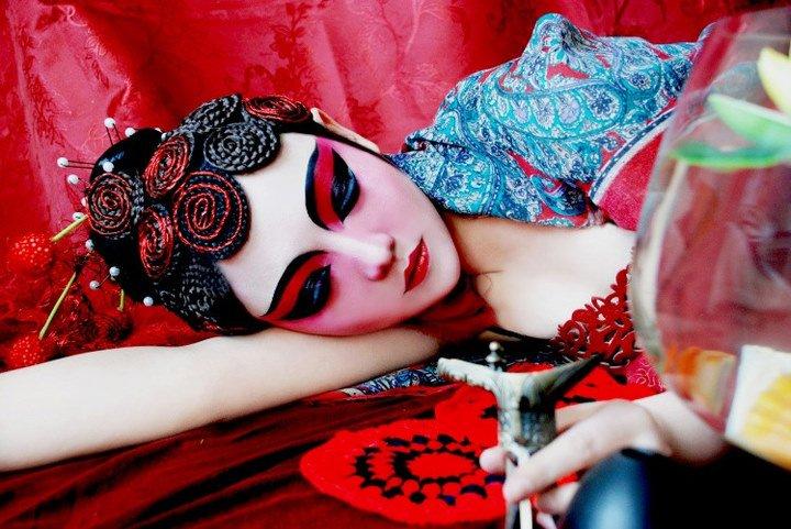 国粹京剧中的美女