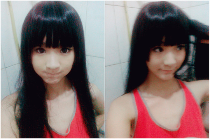 【瞎了】化妆术 老爷子变美女!