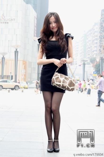 重庆美女街拍 内蒙古吧 竖