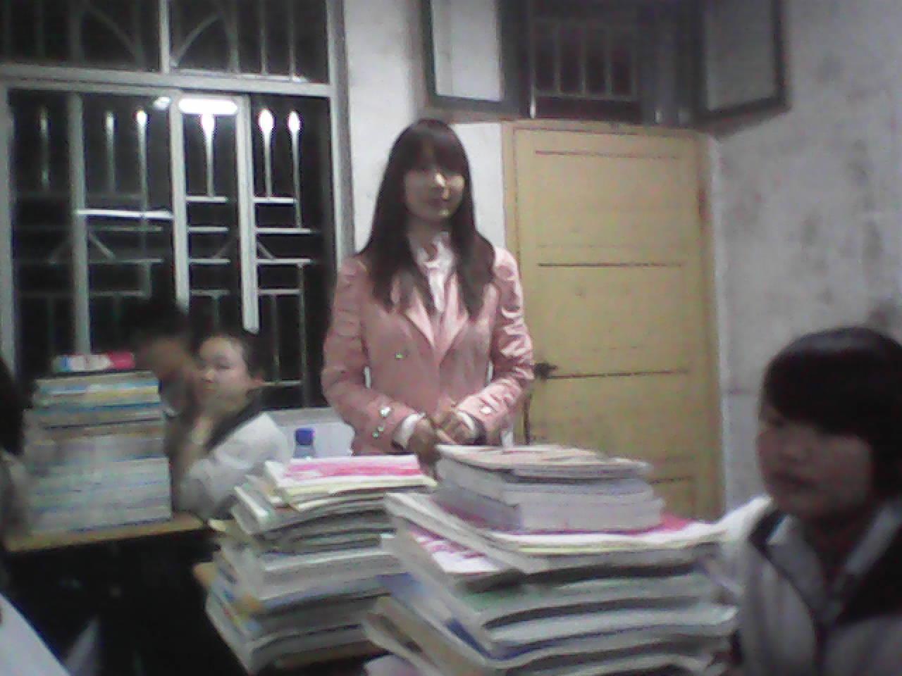 最靓的美女实习老师