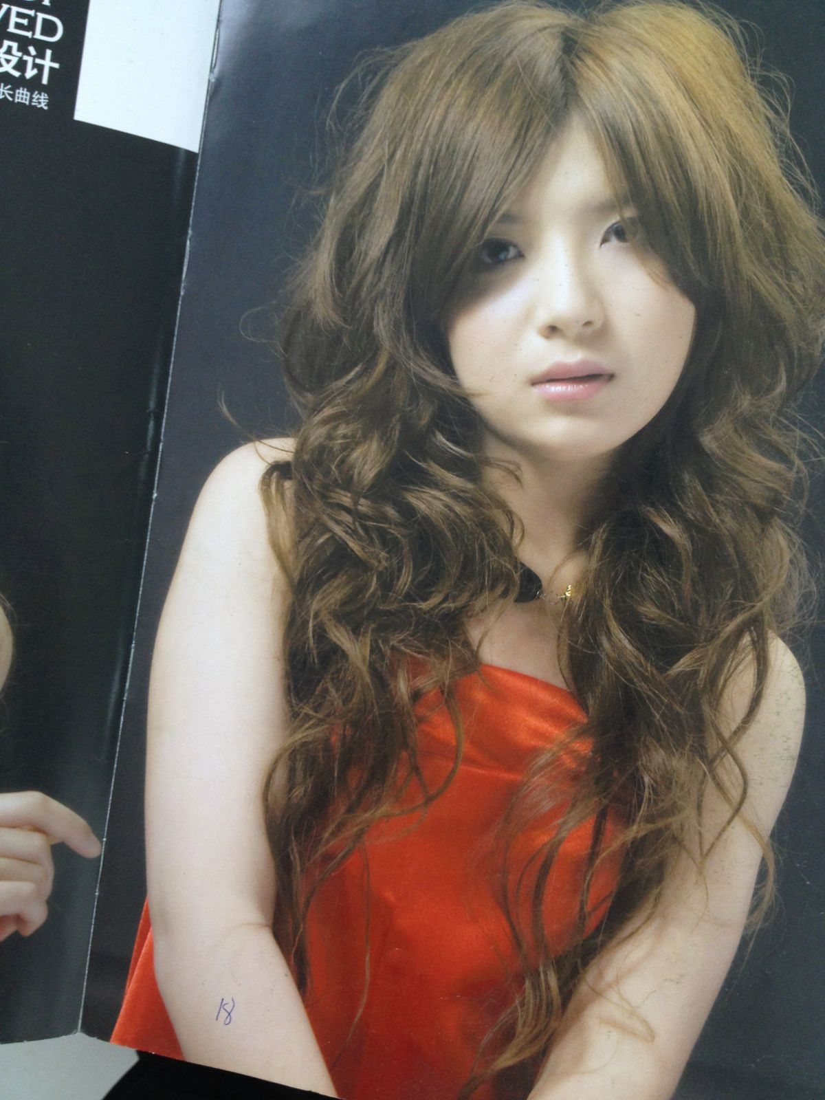 女士中长发小卷发型高清 中长发小卷卷发发型 中长发小卷发型图片图片