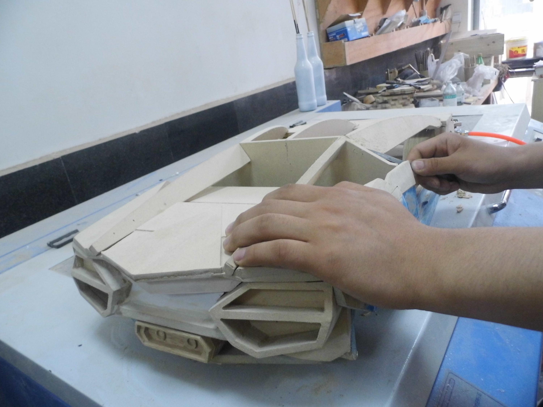 手工打造 兰博基尼 模型 全过程 原本 直播 我是聪明可爱高清图片