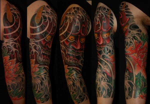 上半臂纹身图片欣赏分享展示图片