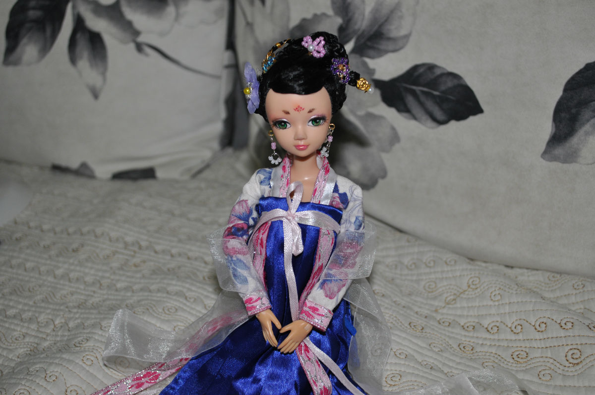可儿娃娃古装发型分享展示图片图片