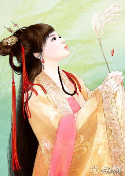 【求图】求古代美少女图图片
