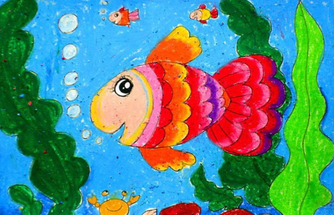 幼儿兴趣班美术作品 幼儿美术作品创意画 大班兴趣班美术作品