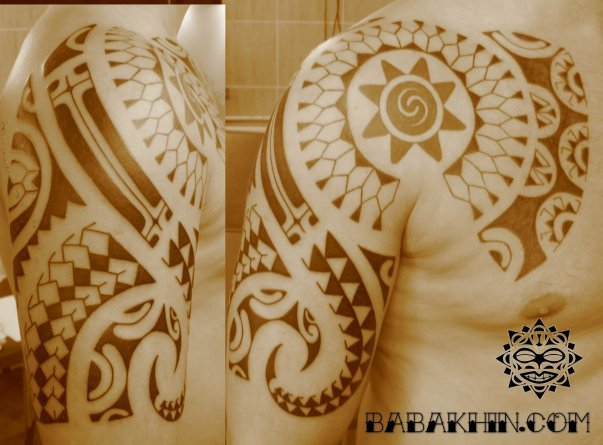 发几个玛雅tattoo素材~图片