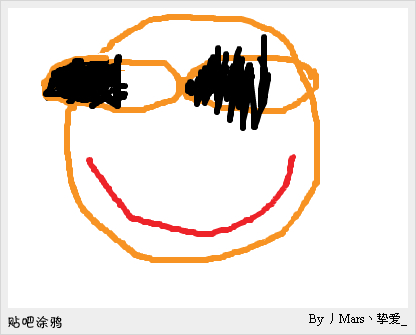 涂鸦泡泡表情图片