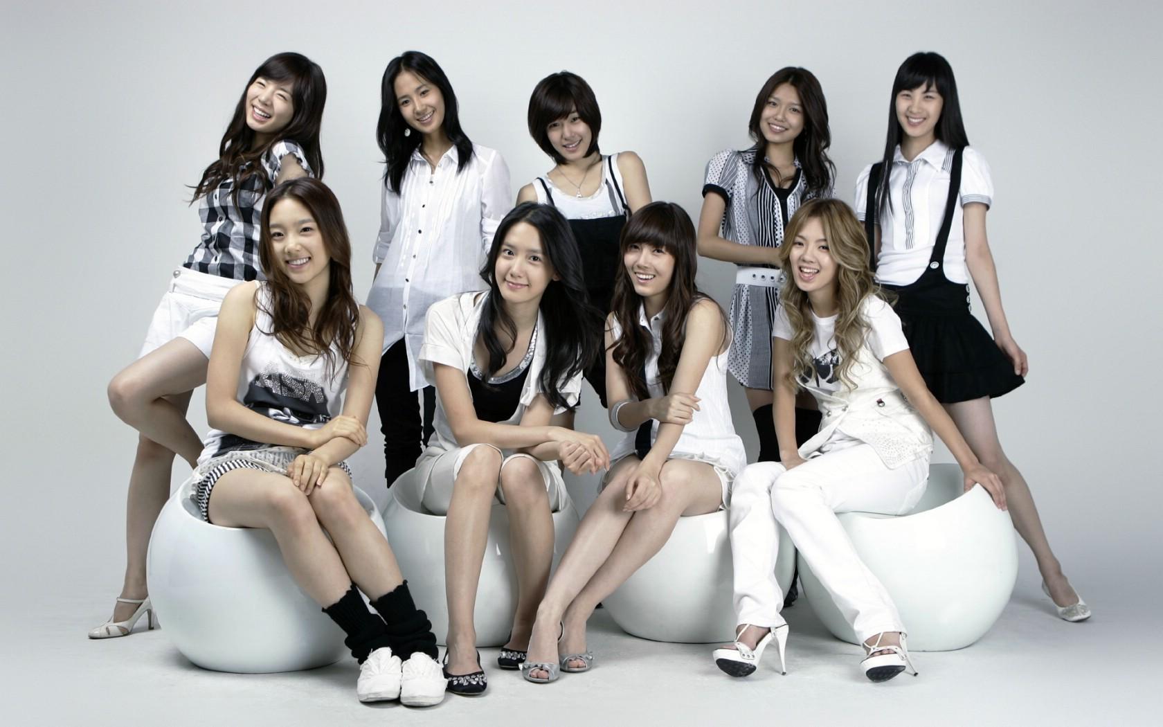 发几组韩国美女组合的图片