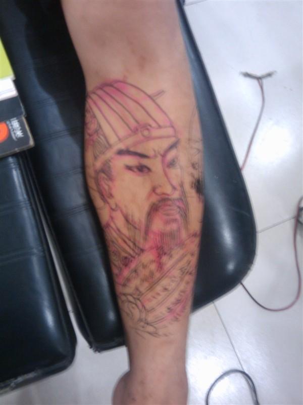 纹身   经典霸气超酷超赞的关公纹身图案图片 纹身图案大全 高清图片